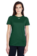 Under Armour Women's Locker 2.0 Moisture Wicking Short Sleeve Crewneck T-Shirt