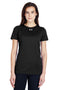 White Under Armour Women's Locker 2.0 Moisture Wicking Short Sleeve Crewneck T-Shirt