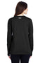 Dark Slate Gray Under Armour Women's Locker 2.0 Moisture Wicking Long Sleeve Crewneck T-Shirt