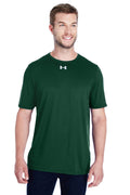 Dark Slate Gray Under Armour Men's Locker 2.0 Moisture Wicking Short Sleeve Crewneck T-Shirt