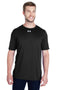 White Under Armour Men's Locker 2.0 Moisture Wicking Short Sleeve Crewneck T-Shirt