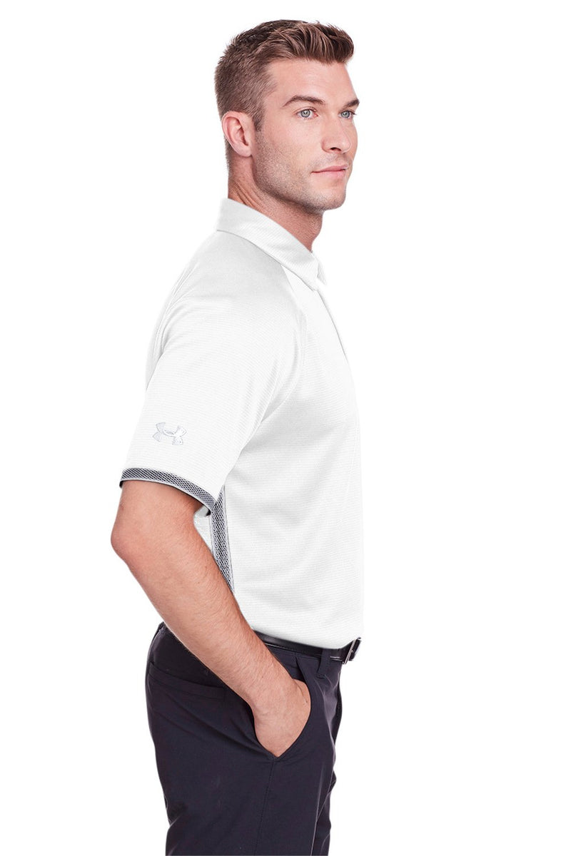 Snow Under Armour Men's Corporate Rival Performance Moisture Wicking Short Sleeve Polo Shirt