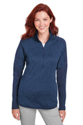 Under Armour Women's Qualifier Corporate Performance Moisture Wicking Hybrid 1/4 Zip Sweatshirt