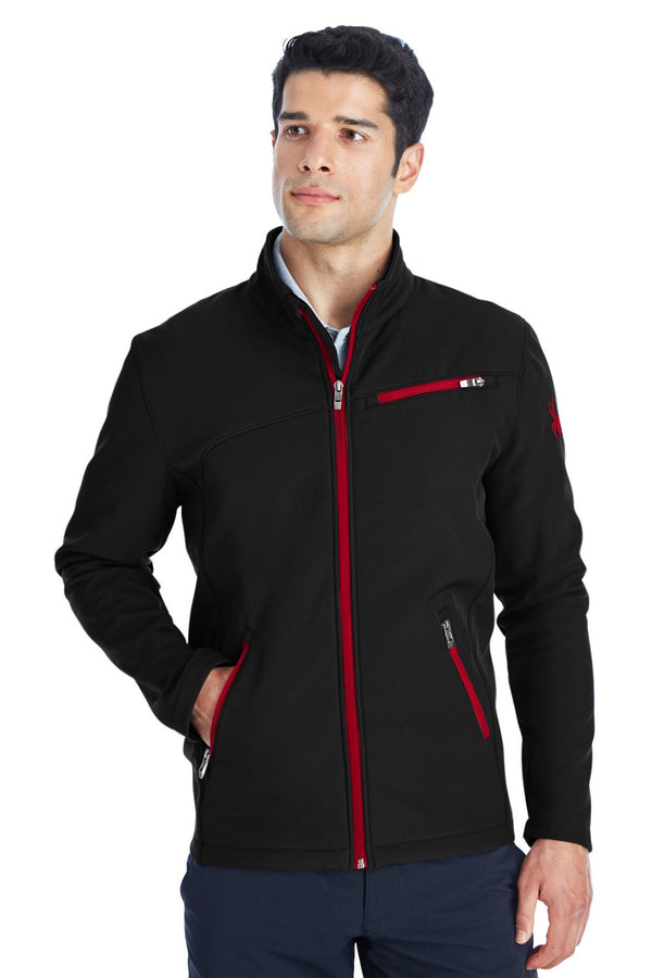 White Spyder Men's Transport Full Zip Jacket