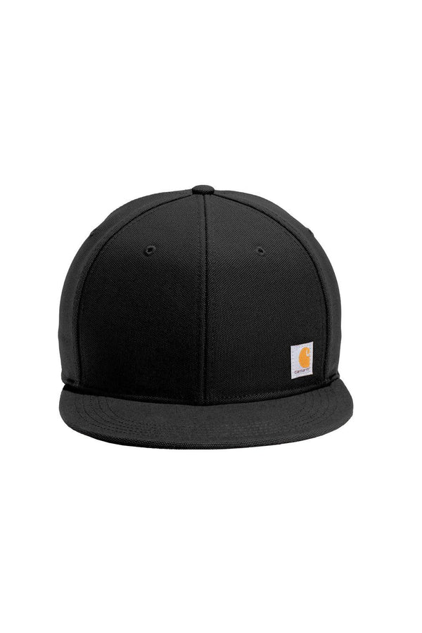 Black Carhartt Men's Ashland FastDry Moisture Wicking Adjustable Hat