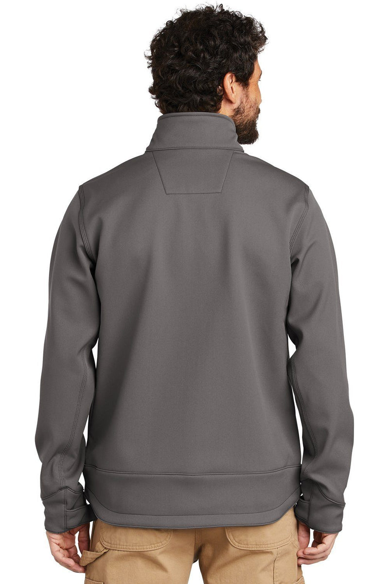 Dim Gray Carhartt Men's Crowley Wind & Water Resistant Full Zip Jacket