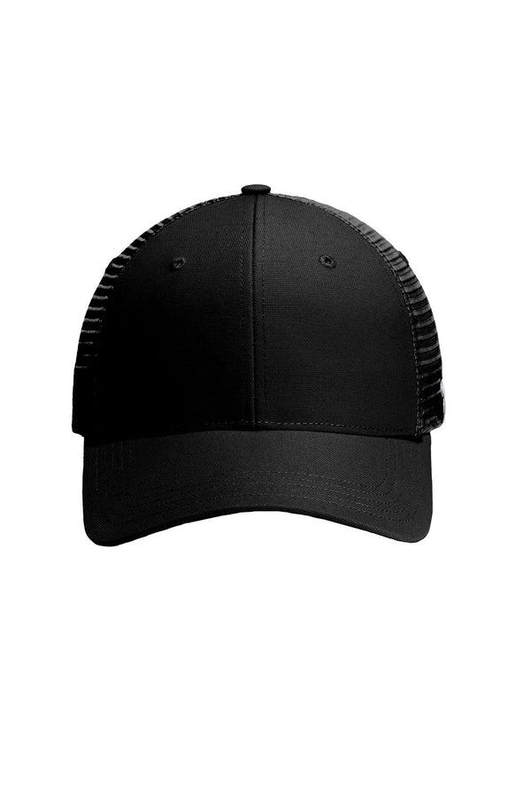 Black Carhartt Men's Rugged FastDry Moisture Wicking Adjustable Trucker Hat
