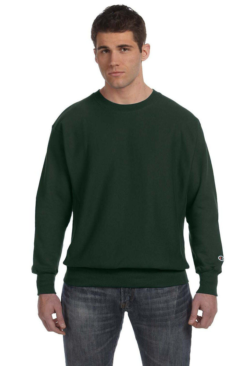 Dark Slate Gray Champion Men's Crewneck Sweatshirt