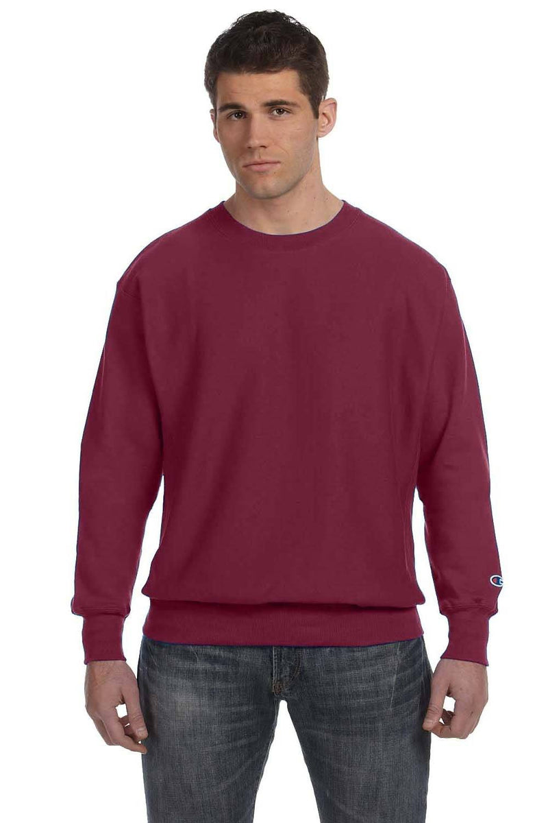 Saddle Brown Champion Men's Crewneck Sweatshirt