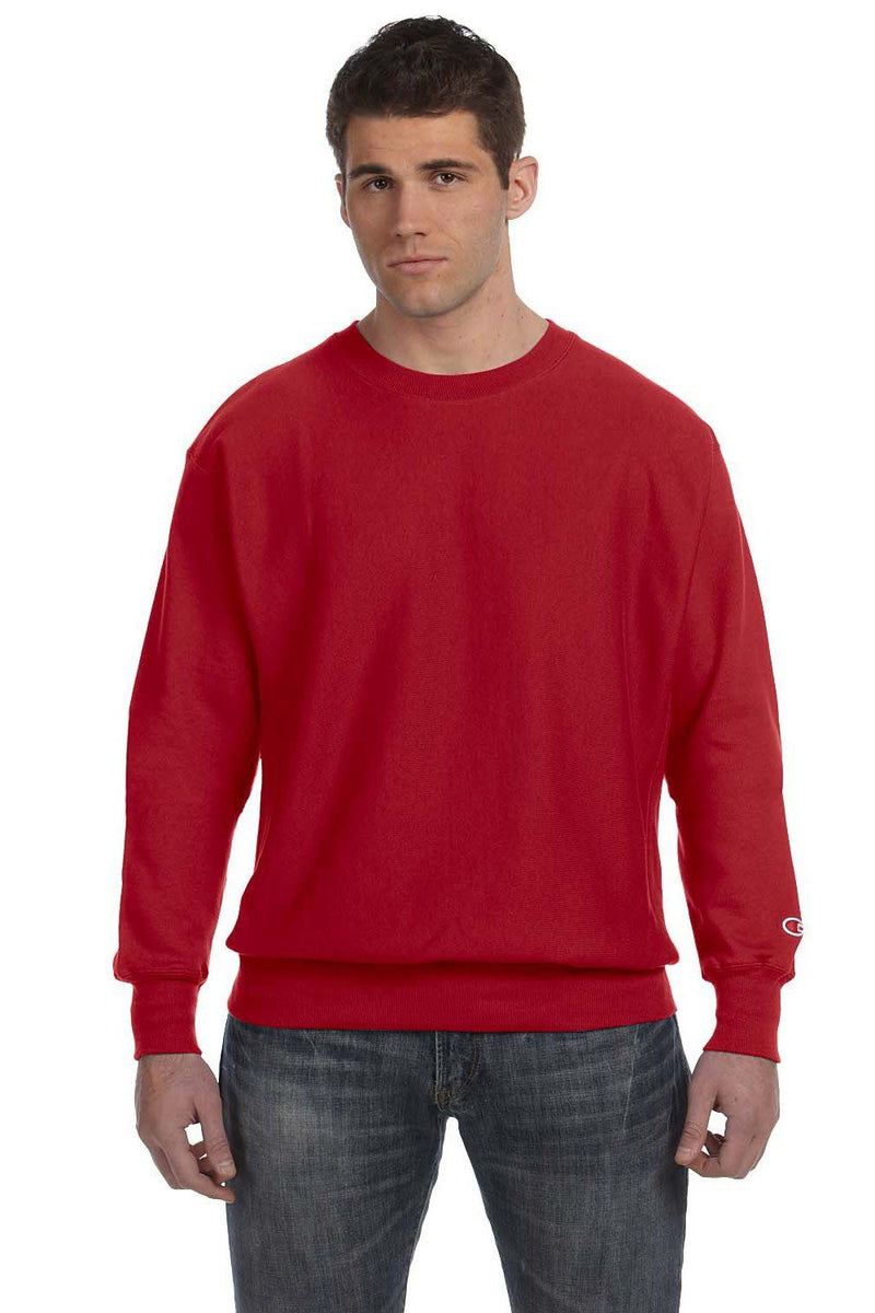 Brown Champion Men's Crewneck Sweatshirt