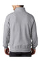 Dark Gray Champion Men's Double Dry Eco Moisture Wicking Fleece 1/4 Zip Sweatshirt