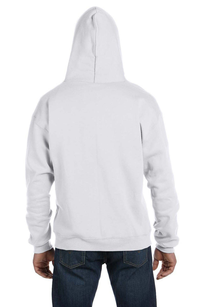 Lavender Champion Men's Double Dry Eco Moisture Wicking Fleece Full Zip Hooded Sweatshirt