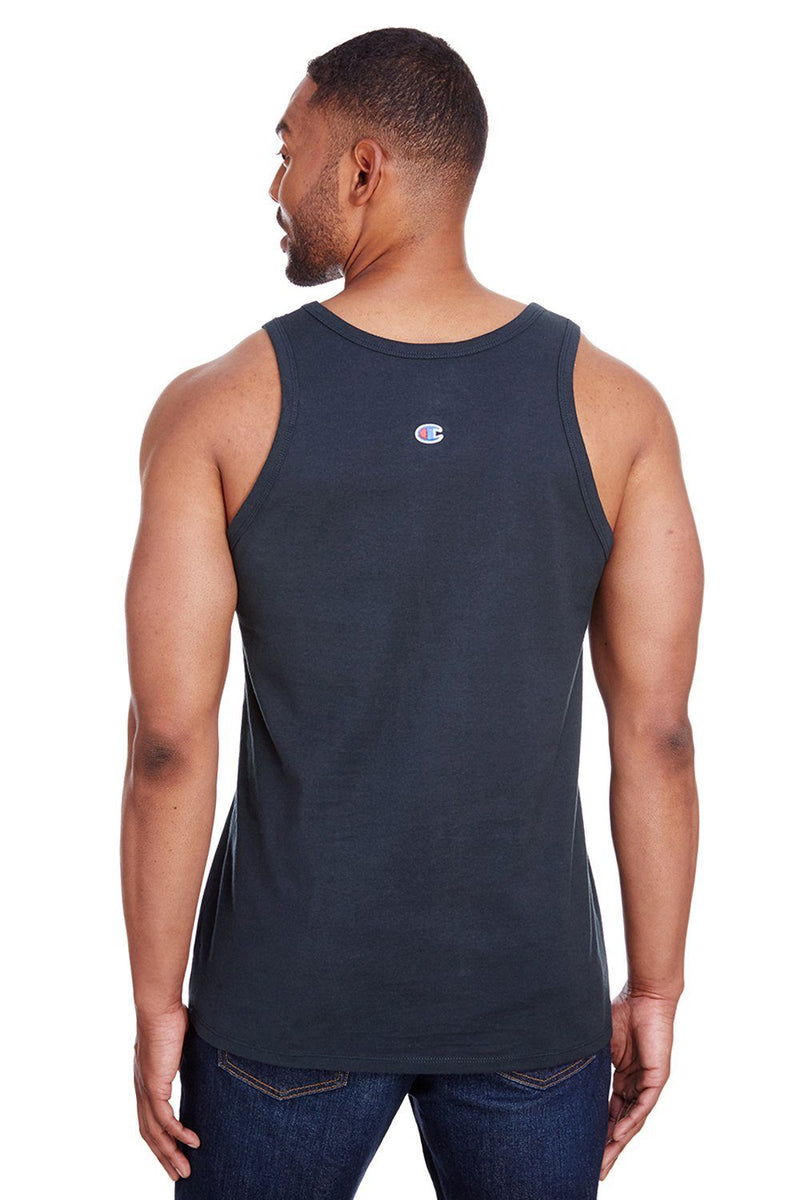 Dark Slate Gray Champion Men's Tank Top