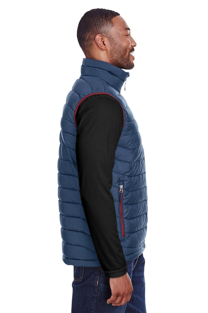 White Columbia Men's Powder Lite Full Zip Vest