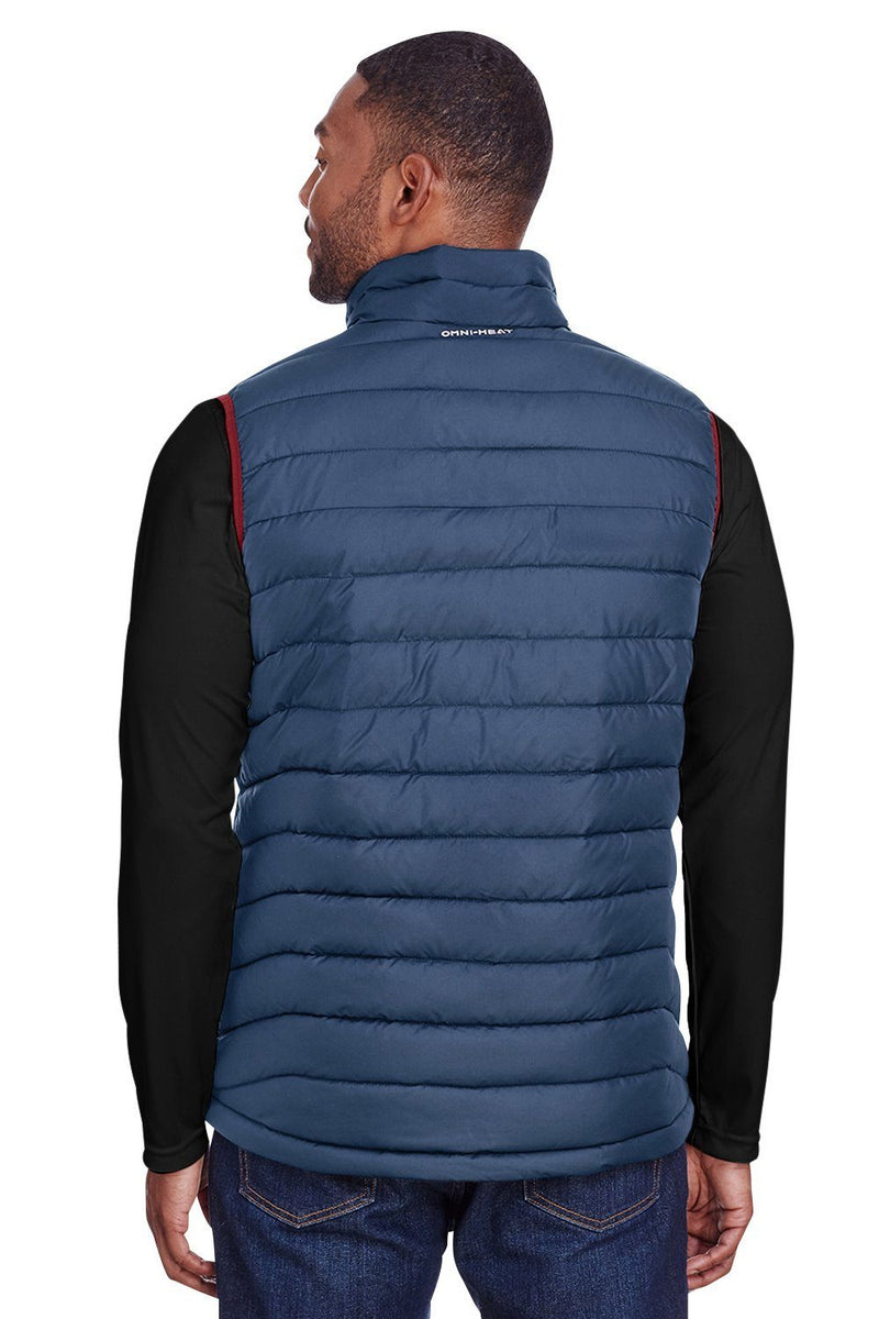 Dark Slate Blue Columbia Men's Powder Lite Full Zip Vest