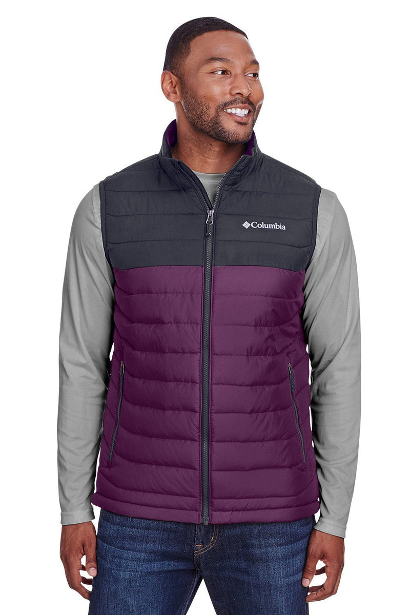 Dark Slate Gray Columbia Men's Powder Lite Full Zip Vest
