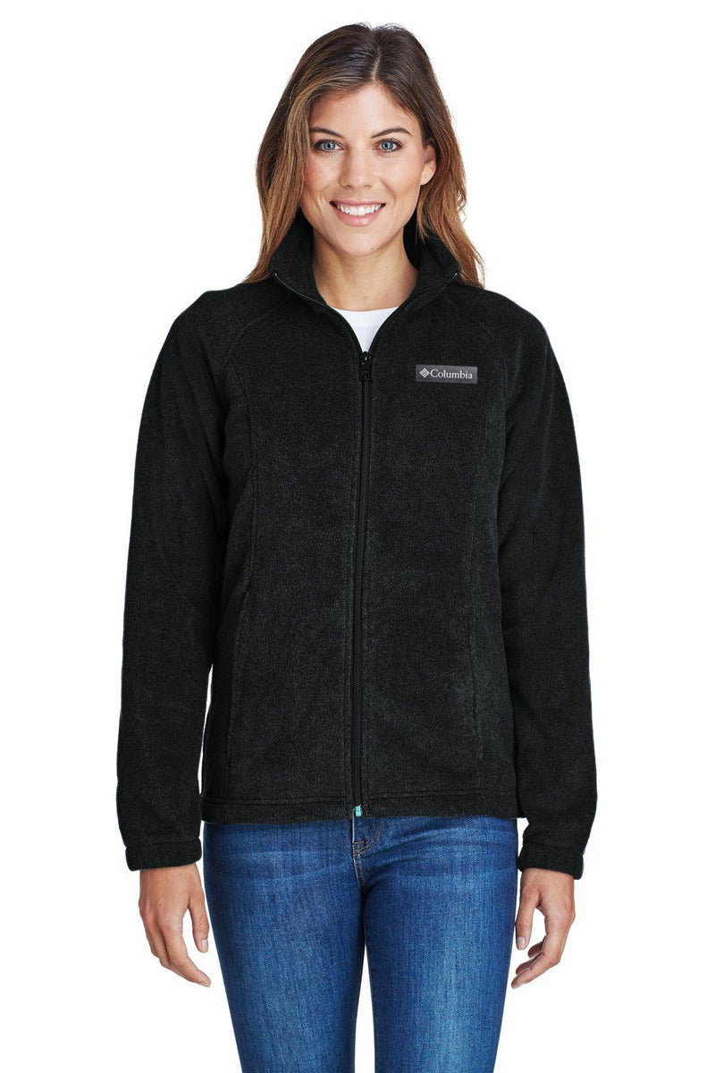 Columbia Womens Benton Springs Full Zip Fleece Jacket Womens Fleece Jackets Columbia XS Black