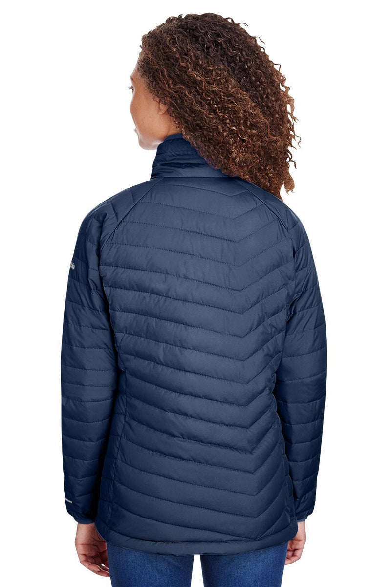 Dark Slate Blue Columbia Women's Powder Lite Full Zip Jacket