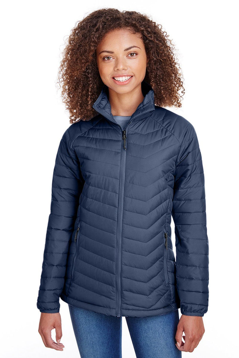 Dark Slate Gray Columbia Women's Powder Lite Full Zip Jacket