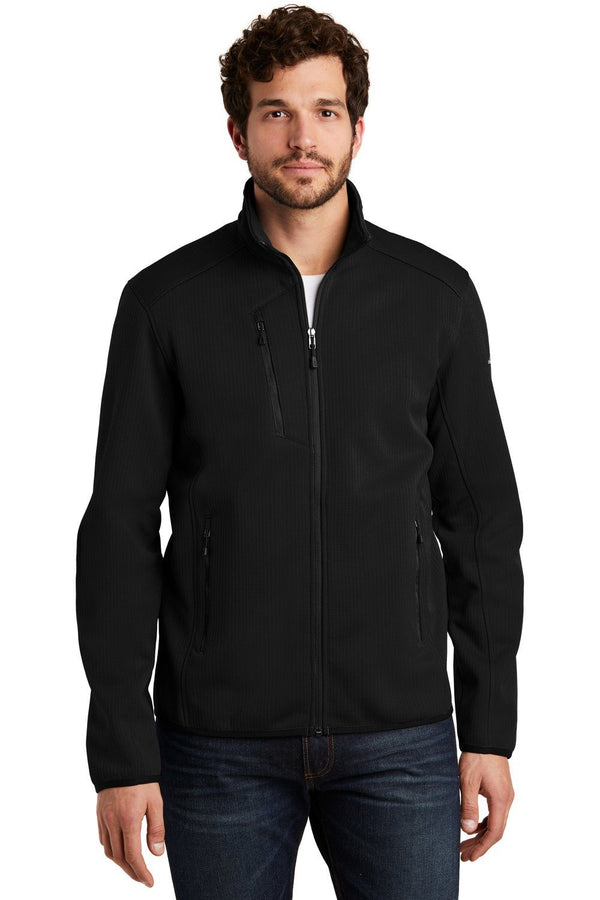 Black Eddie Bauer Men's Dash Full Zip Jacket