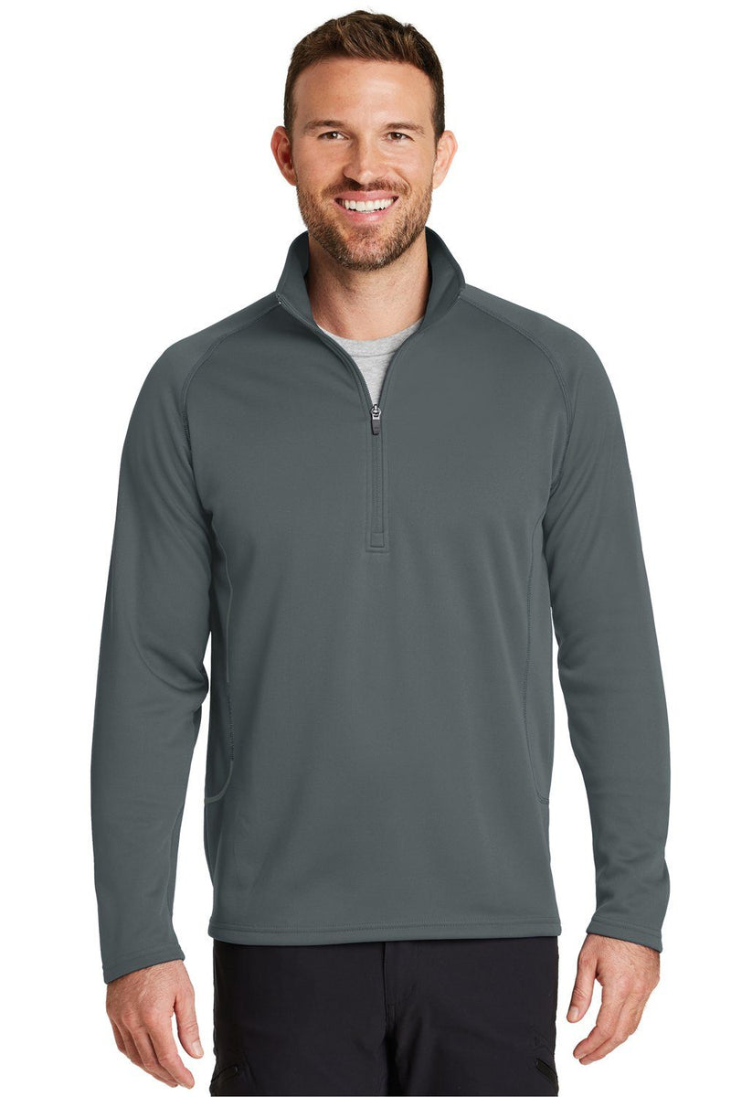Dim Gray Eddie Bauer Men's Smooth Fleece 1/4 Zip Sweatshirt