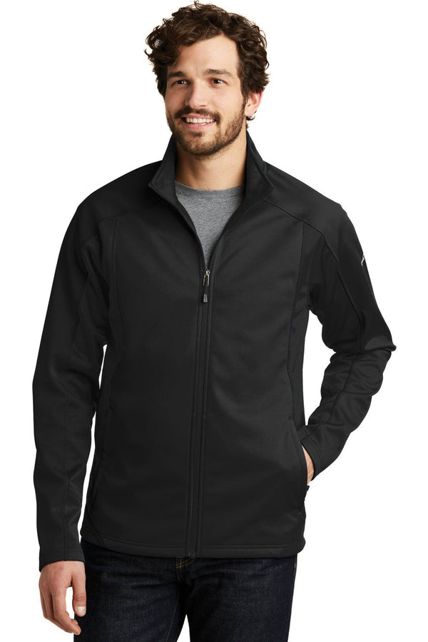 White Eddie Bauer Men's Trail Water Resistant Full Zip Jacket