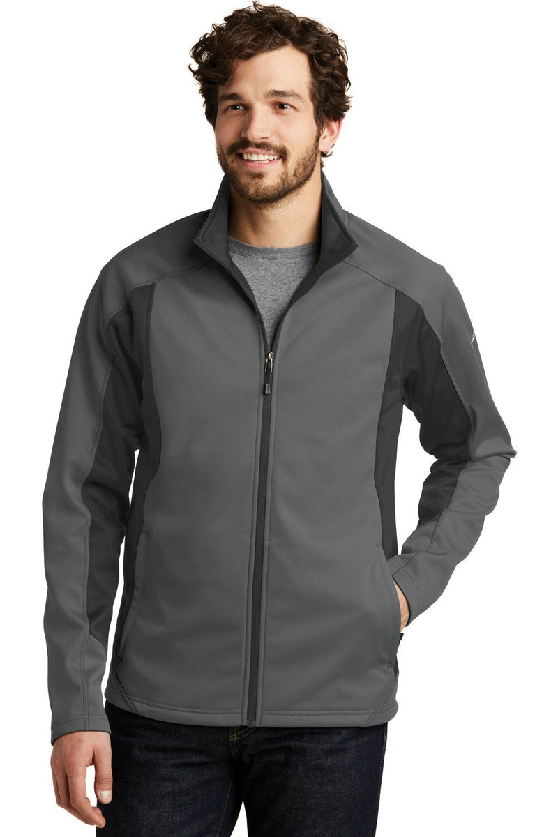 Eddie Bauer Mens Trail Water Resistant Full Zip Jacket Mens Casual Jackets Eddie Bauer XS Metal Grey/Steel Grey