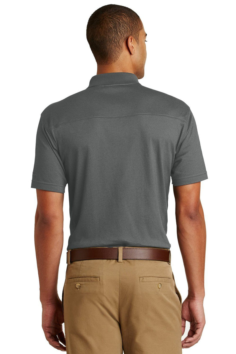 Dim Gray Eddie Bauer Men's UPF 30+ Performance Short Sleeve Polo Shirt