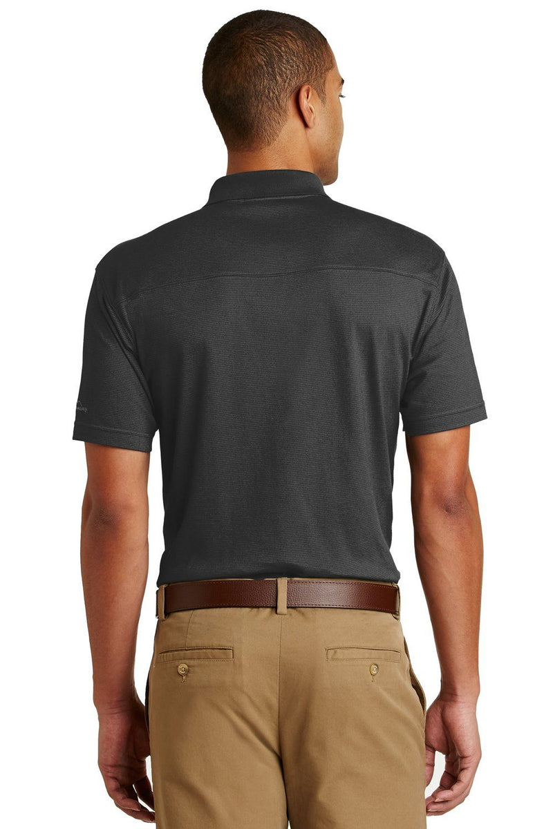 Dark Slate Gray Eddie Bauer Men's UPF 30+ Performance Short Sleeve Polo Shirt