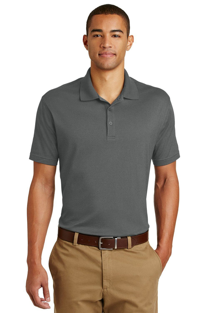Eddie Bauer Mens UPF 30+ Performance Short Sleeve Polo Shirt Mens Polo Shirts Eddie Bauer XS Grey Steel
