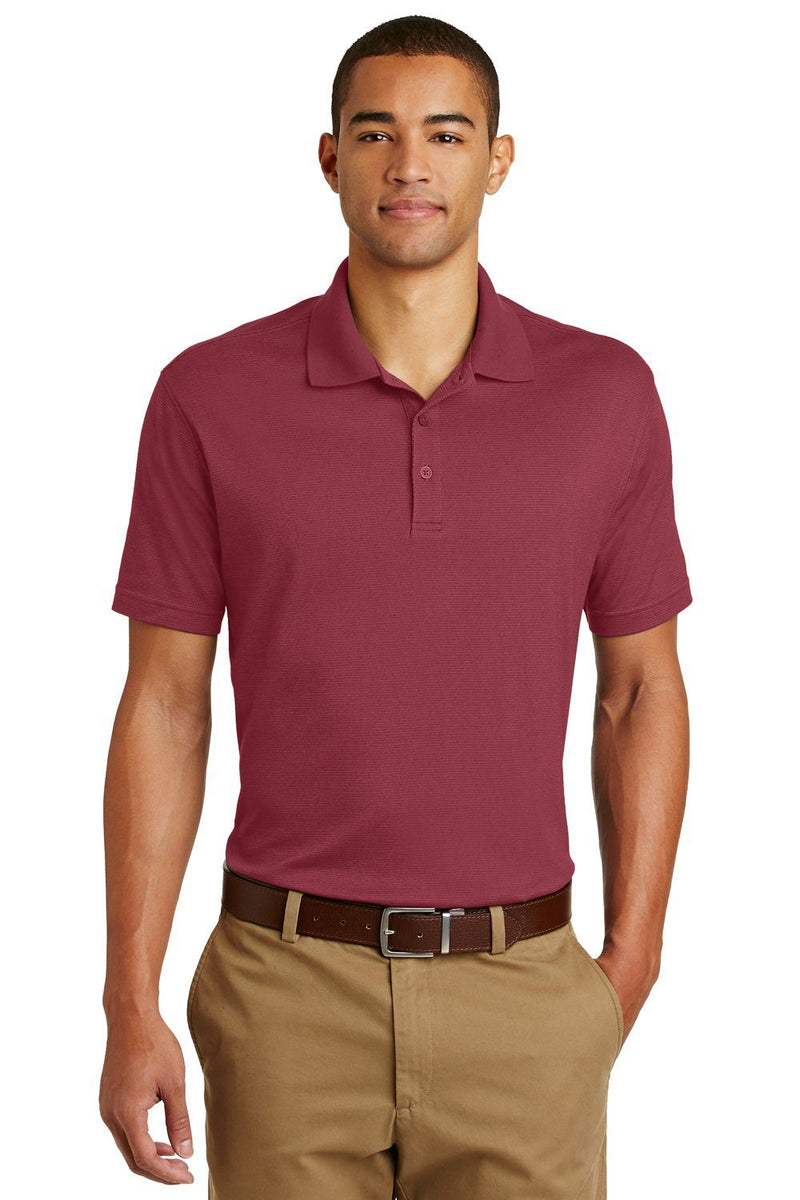 Snow Eddie Bauer Men's UPF 30+ Performance Short Sleeve Polo Shirt