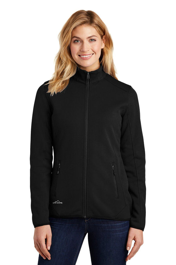 White Eddie Bauer Women's Dash Full Zip Jacket