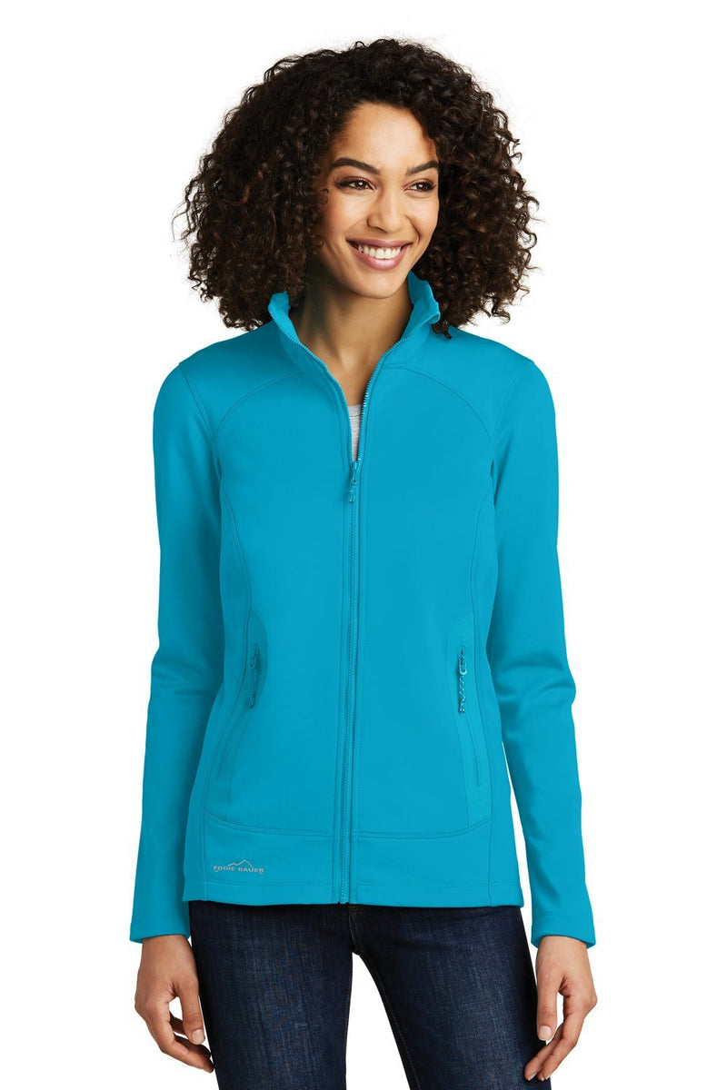 Light Sea Green Eddie Bauer Women's Highpoint Full Zip Fleece Jacket
