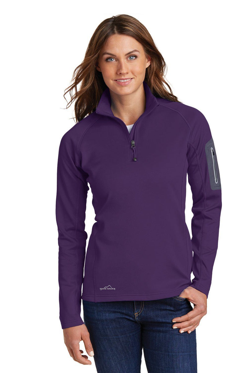 Dark Slate Gray Eddie Bauer Women's Performance Fleece 1/4 Zip Sweatshirt