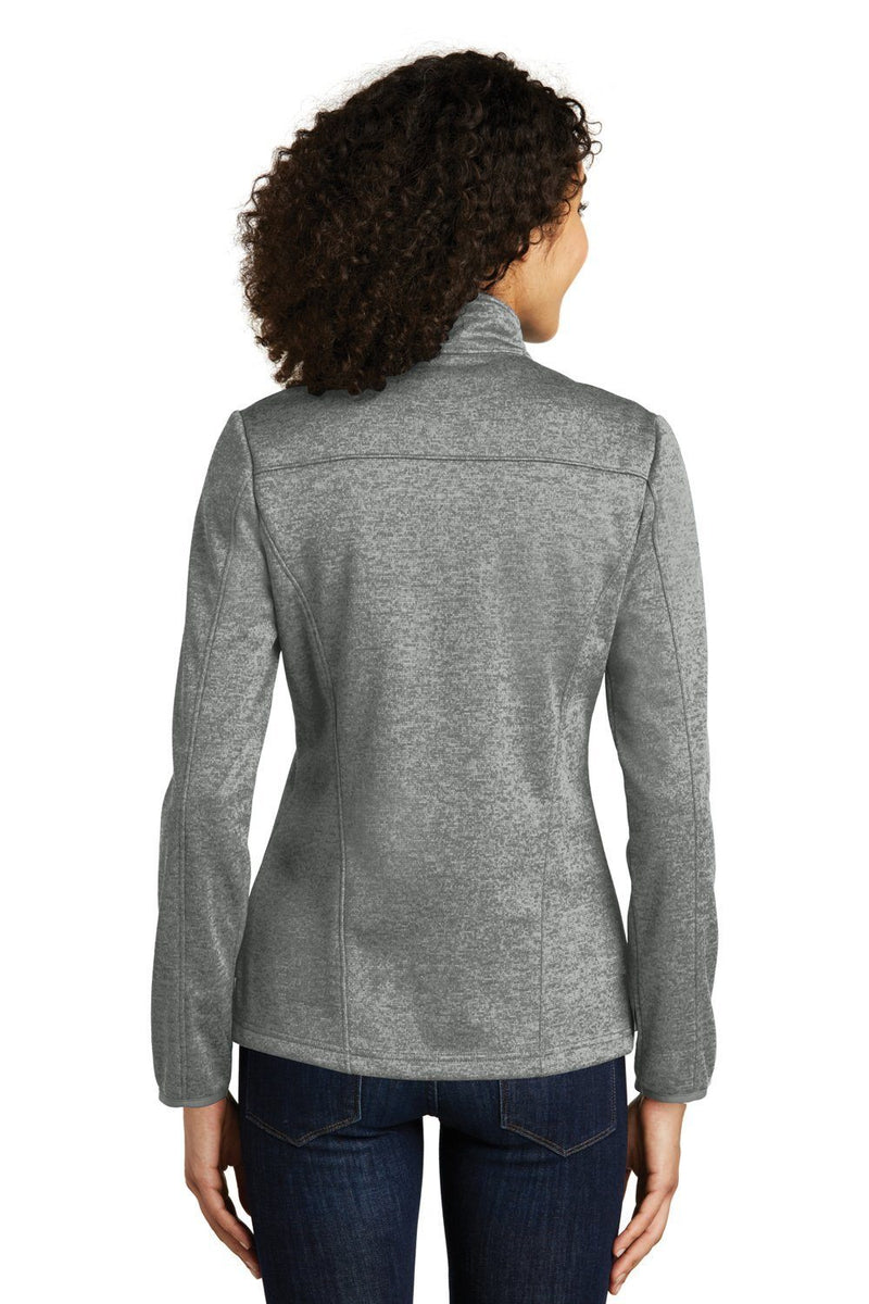 Light Slate Gray Eddie Bauer Women's StormRepel Water Resistant Full Zip Jacket