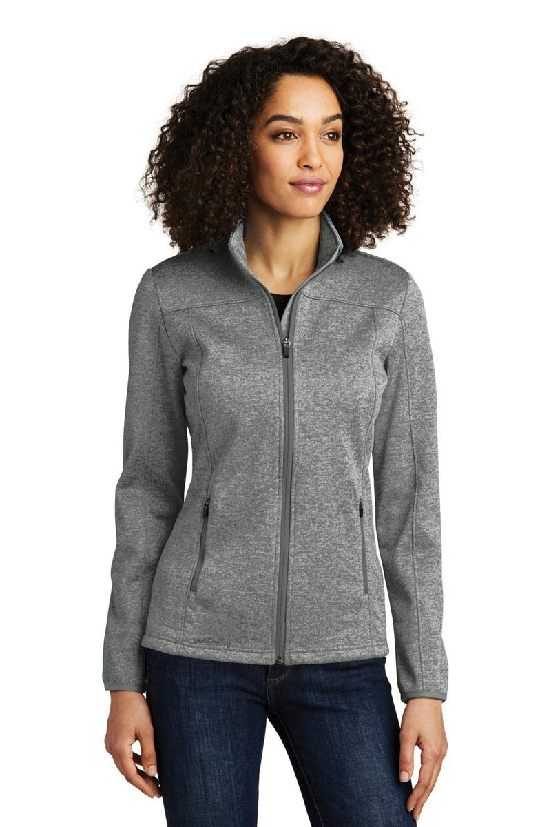 White Eddie Bauer Women's StormRepel Water Resistant Full Zip Jacket