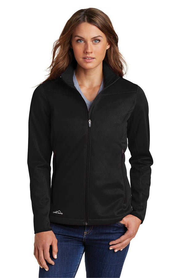 White Eddie Bauer Women's Waterproof Full Zip Jacket