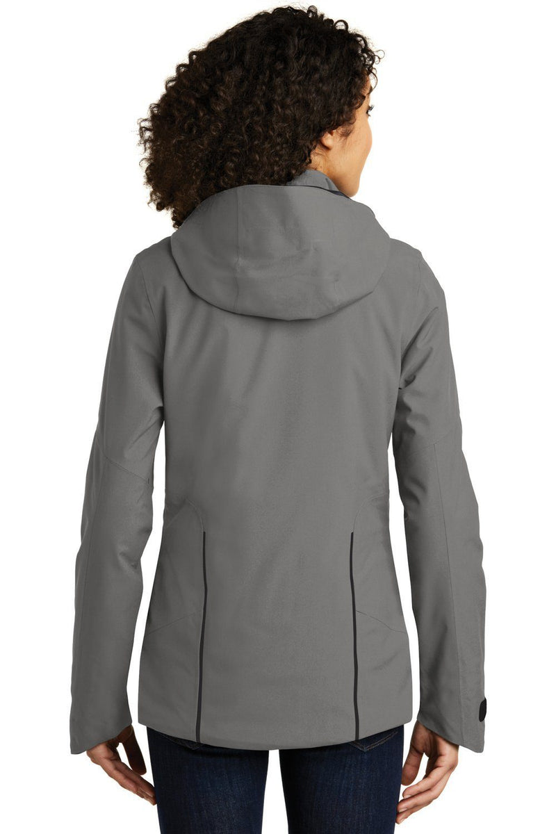 Dim Gray Eddie Bauer Women's WeatherEdge Plus Waterproof Full Zip Hooded Jacket