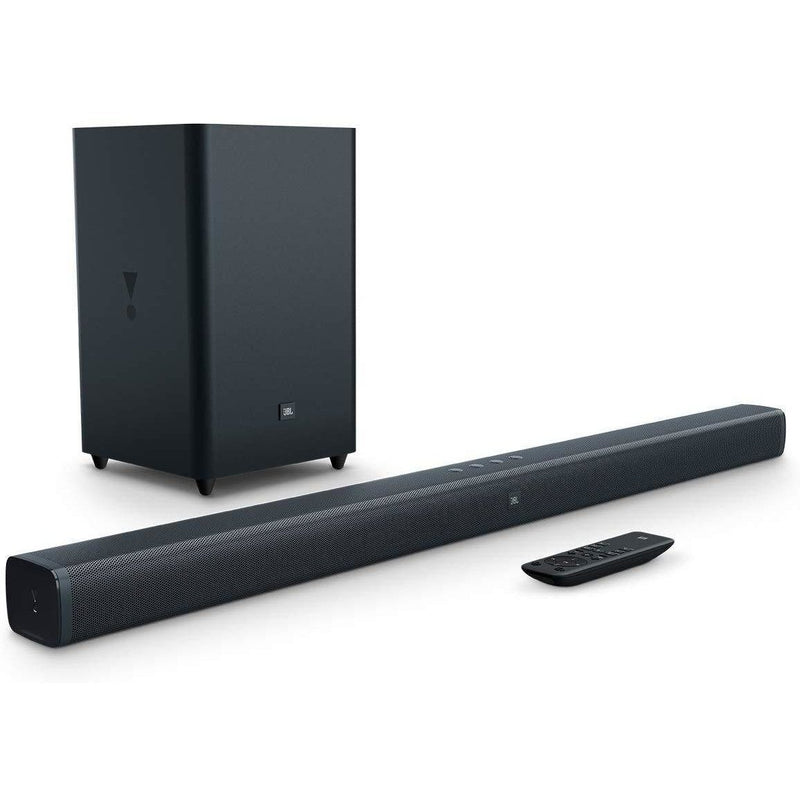 JBL Bar 2.1 Soundbar and Wireless Subwoofer Sound Bars JBL