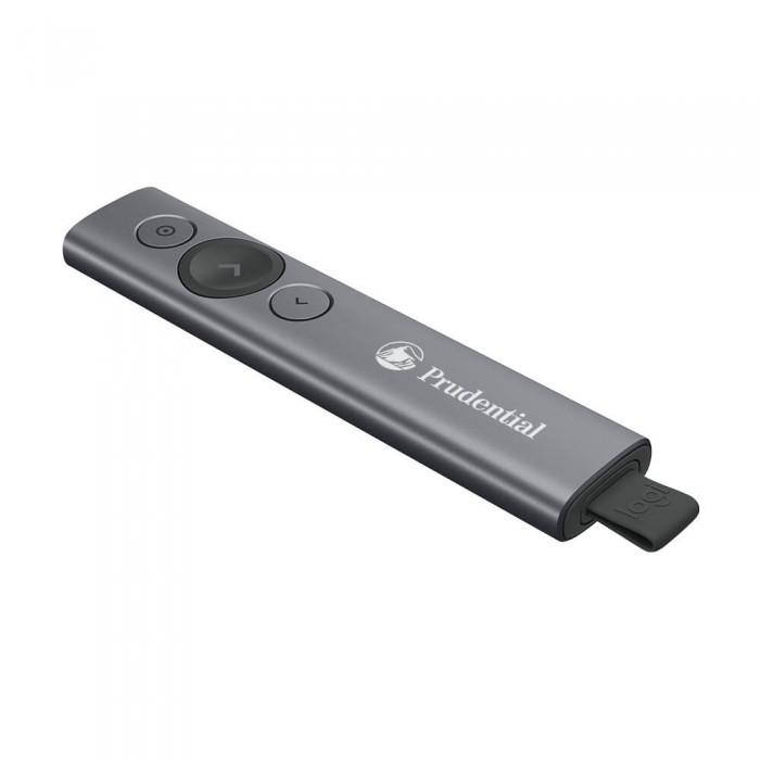 Dark Gray Logitech Spotlight Presentation Remote