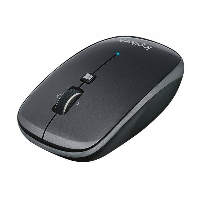 Dark Slate Gray Logitech Bluetooth Mouse M557