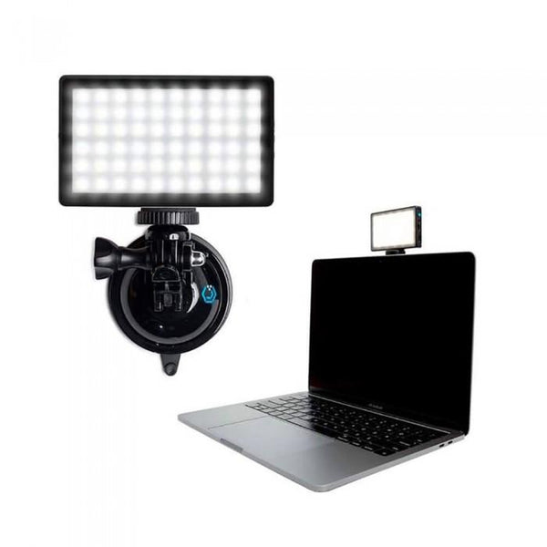 Black Lume Cube Panel Mini w/ Suction Cup