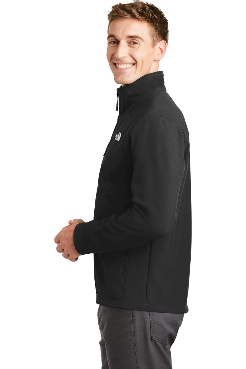 White The North Face Men's Apex Barrier Wind & Resistant Full Zip Jacket