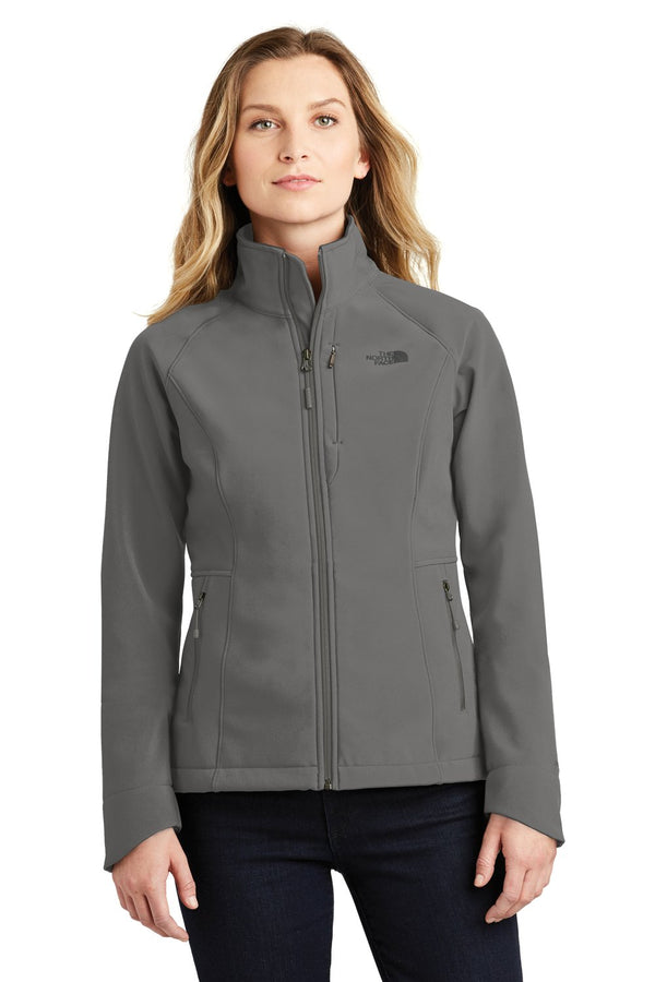 White The North Face Women's Apex Barrier Wind & Resistant Full Zip Jacket
