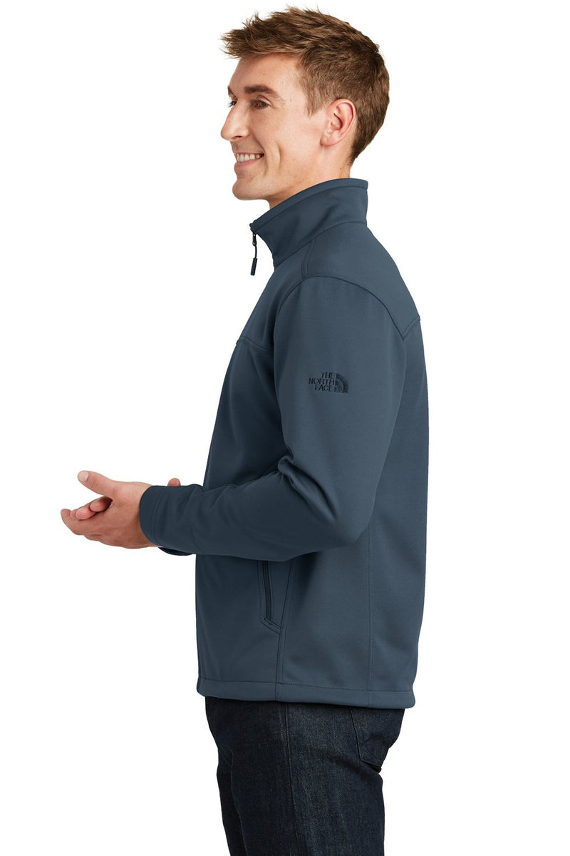 White The North Face Men's Ridgeline Wind & Water Resistant Full Zip Jacket