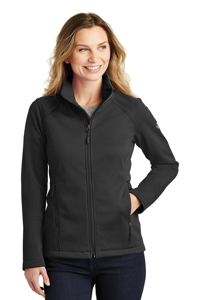 White The North Face Women's Ridgeline Wind & Water Resistant Full Zip Jacket