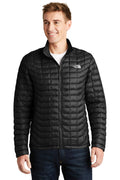 White The North Face Men's ThermoBall Trekker Water Resistant Full Zip Jacket