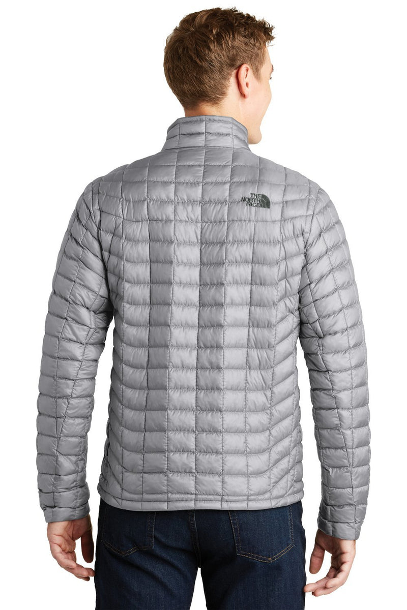 Dark Gray The North Face Men's ThermoBall Trekker Water Resistant Full Zip Jacket