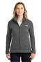 White The North Face Women's Full Zip Sweater Fleece Jacket