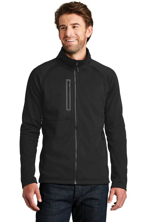 White The North Face Men's Canyon Flats Full Zip Fleece Jacket